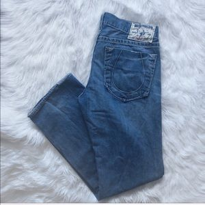 True Religion Straight Leg Jeans 34